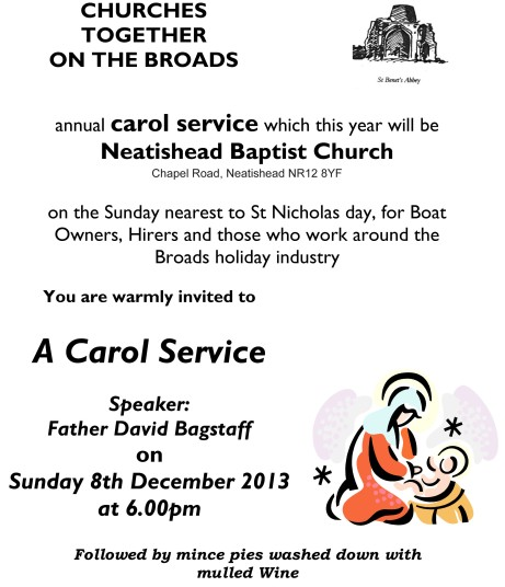 CHURCHES TOGETHER ON THE BROADS