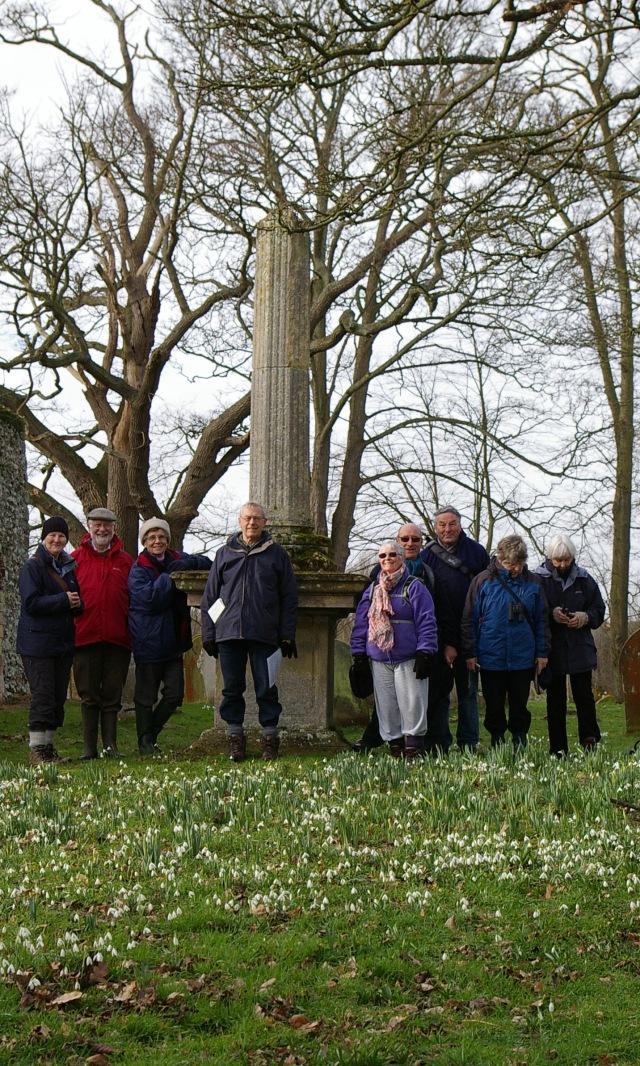 CTOB Walking Group at Hautbois