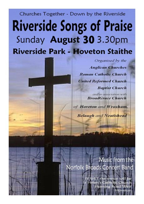 Riverside Service Poster 2015
